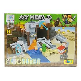 Bộ Xếp Hình - My World - 677 (Li62) - Mẫu 3 (116 Mảnh Ghép)