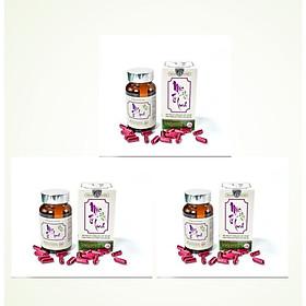 Combo 03 Hộp Viên uống Nano Mầm Đậu Nành Mộc Tố Linh - Hộp 60 viên