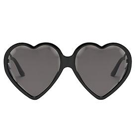Plastic Frame Heart Shaped Sunglasses Womens Eyewear Eyeglasses
