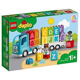 Bộ đồ chơi lắp ráp Xe tải bảng chữ cái Alphabet DUPLO LEGO cho bé từ 1.5 tuổi