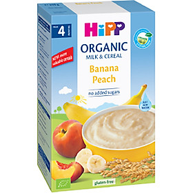 Bột Dinh Dưỡng Sữa Chuối Đào HiPP 2973 (250g)