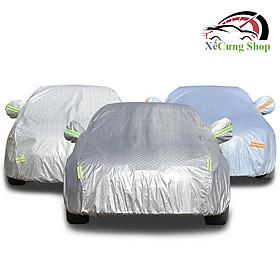 Bạt phủ xe ô tô cao cấp, cho xe ôtô 4 chỗ đến 7 chỗ, phản quang,chống nóng, chống nước, có khóa kéo cánh cửa