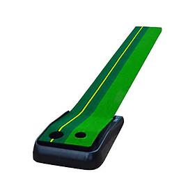 Thảm tập Golf Putting, dụng cụ hỗ trợ tập gạt bóng vùng Green tại nhà.