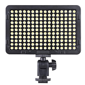 Portable Video Studio Photography Light Lamp Panel 176 LEDs 5600K for Cannon Nikon Pentax Olympus Camcorder DSLR Camera