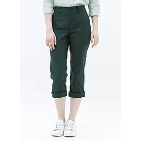 Quần Baggy Nữ Trousers The Cosmo - Green