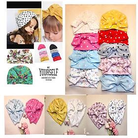Mũ tuban cho bé gái