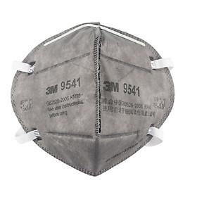 Khẩu trang than hoạt tính chống bụi, mùi hôi và kháng khuẩn N95 3M 9541