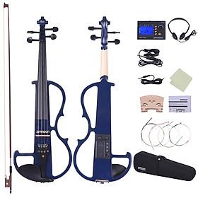 Đàn Violin Điện Ammoon 4/4 Loại 2 Thân Gỗ Mun