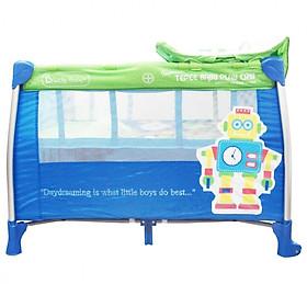 Nôi chơi Tepee Baby Play Crib Lucky Baby