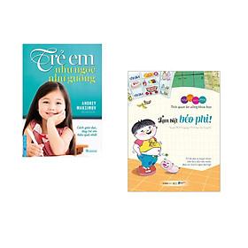 Combo 2 cuốn sách: Trẻ Em Như Ngọc Như Gương - Cách giáo dục dạy trẻ em hiệu quả nhất + Bộ Những Thói Quen Vàng : Tạm Biệt Béo Phì