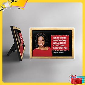 Tranh trích dẫn Oprah Winfrey WB114