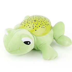 Music Soothing Projection Frog Lamp
