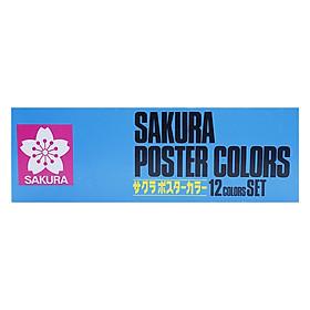 Bộ Màu Vẽ Nước Sakura 12 Màu Pw-12 30Ml