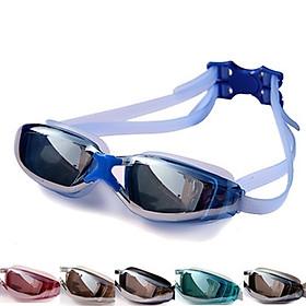 Kính Bơi Tráng Gương Dành Cho Người Lớn Và Trẻ Em HA-160 Chống Nước, Sương Mù, Tia UV Bảo Vệ Tối Đa Đôi Mắt Của Bạn - Tặng Bịt Tai (Giao Màu Ngẫu Nhiên)