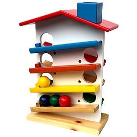 Nhà thả bi - Giáo cụ montessori SK