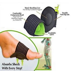 Bộ 2 đế lót thể thao,đệm giày,hỗ trợ giảm đau foot ama52-1