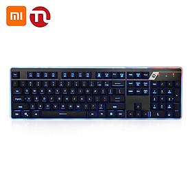 Xiaomi Youpin Ningmei Soul Keyboard and Mouse Combo GK21 Keyboard and GM21Mouse Set Mechanical Gaming Keyboard with LED