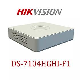 Đàu ghi hình 4 kênh HIKVISION DS-7104HGHI - F1- hàng chính hãng