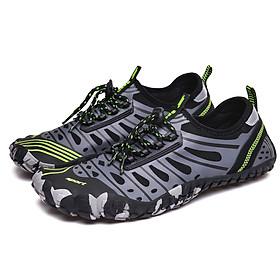 Giày đi nước chống trơn trượt, nhẹ, thoáng, phù hợp đi du lich, leo núi, thân thiện với môi trường, chịu nước tốt và nhanh khô (SA053-G)-4