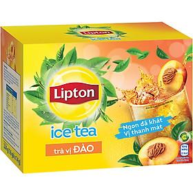 Lipton Trà Hòa Tan Vị Đào (16 Gói x 14g)