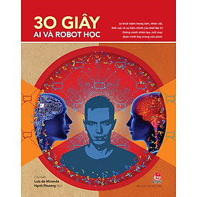 [Download sách] 30 Giây AI Và Robot Học