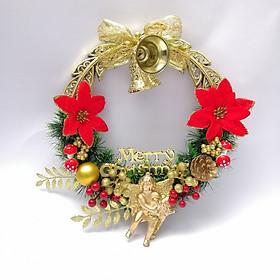 Vòng Nguyệt Quế trang trí Giáng Sinh (đường kính 30cm)