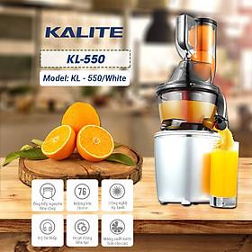 Máy Ép Chậm KALITE KL-550 - HÀNG CHÍNH HÃNG