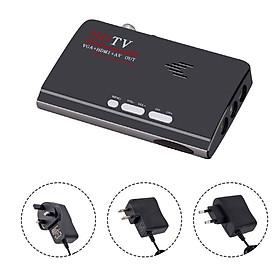 DVB-T/DVB-T2 TV Tuner Receiver DVB T/T2 TV Box VGA AV CVBS 1080P HDMI Digital HD Satellite Receiver with Remote Control