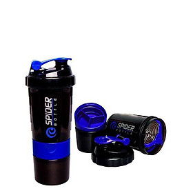 Bình Lắc Tập Gym Shaker 3 Ngăn Cao Cấp Dung Tích 500ml