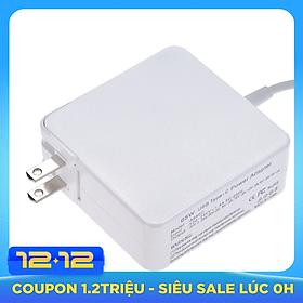 Sạc USB type C nhanh siêu tốc công suất đến 65W hỗ trợ sạc cho các thiết bị Macbook/Xiaomi/Huawei 100V-240V 1.5A 50/60Hz Output: 20V-3.25A/20V(20.3V)-3A/15V-3A/12V-3A/9V-3A/5V-3A