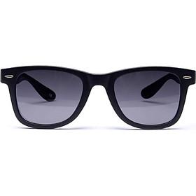 Weigu VEGOOS polarized sunglasses for men and women models trend driving mirror sunglasses glasses 6106 matte black frame gray sheet
