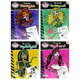 Bộ Sách Tạo Dựng Phong Cách Thời Trang Monster High (Bộ 4 Cuốn)