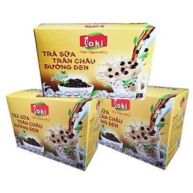 Trà sữa trân châu đường đen Yoki