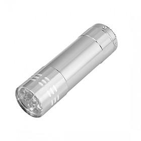 Đèn Pin Mini 9 Đèn LED - Bạc