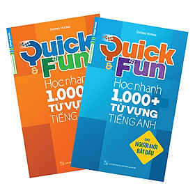 Combo Quick And Fun Học Nhanh 1000+ Từ Vựng Tiếng Anh Cho Luyện Thi THPT Quốc Gia (2 Tập)