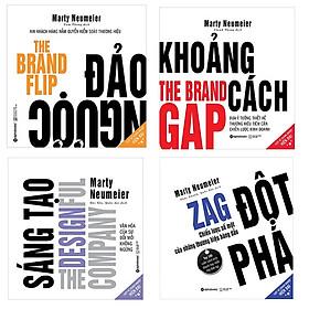 Combo Sách Chiến Lược Marketing: Sáng Tạo + Đảo Ngược + Đột Phá + Khoảng Cách (Bộ 4 Cuốn)