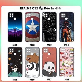 Ốp Lưng Dẻo Cho Realme C12 In Hình Case- Hàng Chính Hãng