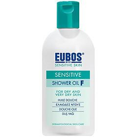 Sữa tắm dưỡng ẩm dạng dầu cho da khô ngứa nhạy cảm EUBOS Sensitive Shower Oil F (200ml)