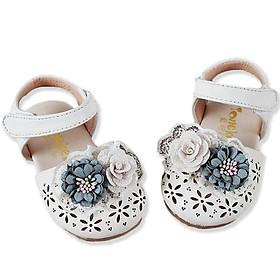 Giày sandal cho bé gái 1 – 3 tuổi đính hoa điệu đà BBShine – S9