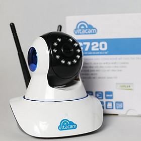 Camera IP Wifi Vitacam C720 Pro 2.0mpx Full HD1080p - Hàng Chính Hãng