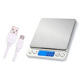 Cân tiểu ly điện tử cân nhà bếp i200 sạc bằng USB độ chính xác cao cân điện tử
