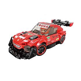 Đồ chơi lắp ráp Xe đua tốc độ Red Light GT-07 Qman 4201-2 (202 chi tiết)