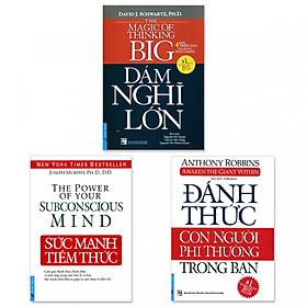 Combo 3 cuốn: Sức Mạnh Tiềm Thức, Đánh Thức Con Người Phi Thường Trong Bạn, Dám Nghĩ Lớn!