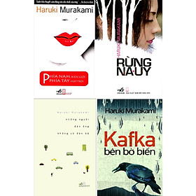 Combo Sách - 4 Cuốn Của Tác Giả Haruki Murakami