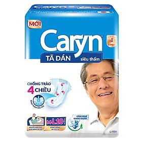 Tã Dán Siêu Thấm Caryn M-L 10 (10 Miếng)