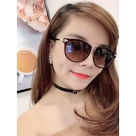 Mắt kính nữ kính mát thời trang meo tròn MS03