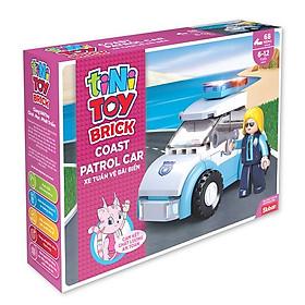 Đồ chơi lắp ráp xe tuần vệ bãi biển TINITOY (68pcs) YY652946