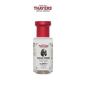 Nước hoa hồng không cồn THAYERS - Hương hoa oải hương - Travel size 89ml