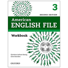 American English File (2 Ed.) 3: Workbook With iChecker - Paperback