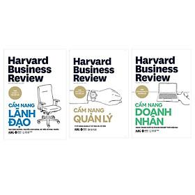 HBR HandBook- Cẩm Nang Quản Trị Toàn Tập Từ Harvard:  Cẩm Nang Lãnh Đạo + Cẩm Nang Quản Lý + Cẩm Nang Doanh Nhân